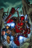 Weapon X: First Class No. 2: Wolverine, Deadpool Plastic Sign
