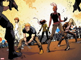 Ultimate Comics X-Men No. 24: Storm, Hudson, James, Blackheath, Rogue, Pryde, Kitty Wall Decal