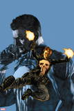 The Punisher No. 14: Punisher, Cole, Rachel Wall Decal