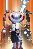 Ultimate Comics Ultimates No. 18.1: Captain America, Thor, Iron Man Wall Sign