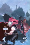 Thor: God of Thunder No. 19: Thor, S.H.I.E.L.D., Solomon, Roz, The Minotaur Plastic Sign