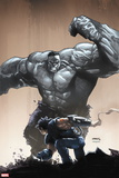 Age of Apocalypse No. 4: Hulk, Wolverine Wall Decal