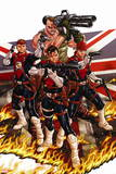 Revolutionary War: Supersoldiers No. 1: Gog, Hauer, Joseph, Guvnor, Dauntless Plastic Sign