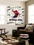 Ultimate SpiderMan - 2014 Villains Design Elements - Patterns Wall Mural