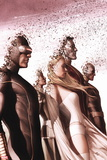 New Mutants No. 13: Cyclops, Frost, Emma, Colossus, Wolverine, Rogue Wall Sign