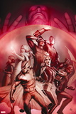 X-Men Legacy No. 236: Wolverine, Rogue, Cannonball, Cyclops, Colossus, Frost, Emma Wall Sign