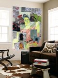She-Hulk No. 5: She-Hulk, Rambeau, Monica, Nightwatch, Tigra, Vibro, Shocker, Hellcat Wall Mural
