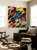 Marvel Comics Retro Style Guide: Black Bolt Wall Mural