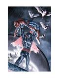 The Amazing Spider-Man No. 699.1: Morbius, Spider-Man Metal Print