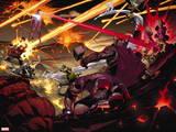 Avengers vs. X-Men No. 12: Cyclops, Red Hulk, Iceman, Storm, Hulk Wall Decal