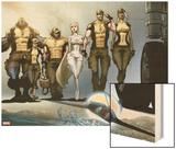 Astonishing X-Men: Xenogenesis No. 1: Beast, Armor, Wolverine, Frost, Emma, Cyclops, Storm Art