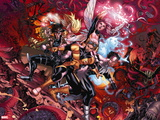X-Men: Hellbound No. 1: Cannonball, Gambit, Northstar, Pixie Wall Decal