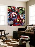Avengers Assemble - Patterns Wall Mural