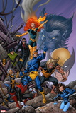 X-Men Forever No. 24: Rogue, Kitty Pryde, Storm, Cyclops, Sabretooth, Gambit, Phoenix Wall Sign