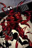 Marvel Extreme Style Guide: Carnage Plastic Sign