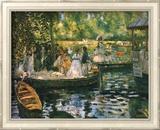 Le Grenouillere Plakater af Pierre-Auguste Renoir