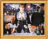 Bar at the Folies-Bergere, c.1882 Kunstdrucke von Édouard Manet