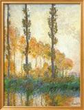 Three Trees In Autumn Kunstdrucke von Claude Monet