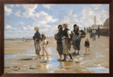 John Singer Sargent - Oyster Gatherers of Cancale Obrazy