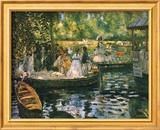 Le Grenouillere Plakat af Pierre-Auguste Renoir