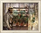 Eugene Manet Plakat af Berthe Morisot