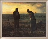 The Evening Prayer (L'Angélus), c.1859 Poster von Jean-François Millet