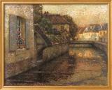 Le Pont A Gisors Kunstdrucke von Henri Le Sidaner