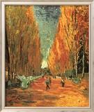 Allee des Alycamps Kunstdruck von Vincent van Gogh
