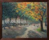 Hyde Park, Londen Poster van Camille Pissarro