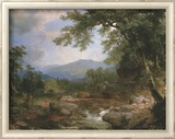 Monument Mountain Kunstdrucke von Asher Brown Durand