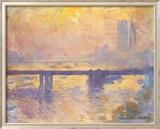 Charing Cross Bridge, c.1905 Plakat af Claude Monet