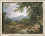 Monument Mountrains Plakater af Asher Brown Durand