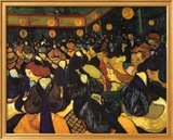 The Dance Hall at Arles, c.1888 Kunstdrucke von Vincent van Gogh