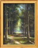 Forrest Interiors Poster von James Sulkowski
