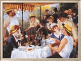 The Luncheon of the Boating Party, c.1881 Posters by Pierre-Auguste Renoir