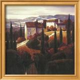 Farmhouse near Prato Kunstdrucke von Max Hayslette