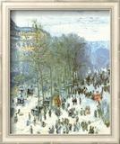 Boulevard Des Capucines Poster von Claude Monet