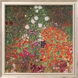 Farmer's Garden Kunst von Gustav Klimt