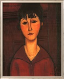 Portrait of Young Woman, c.1916 Poster von Amedeo Modigliani