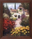 Monte Cito Poster von Eric Poulson