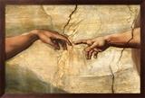 Creation of Adam, c.1510 Plakater av Michelangelo Buonarroti,