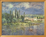 Thunderstorms Print by Claude Monet