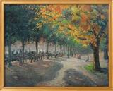 Hyde Park, London Poster von Camille Pissarro