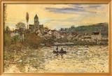 The Seine at Vetheuil Kunstdrucke von Claude Monet