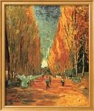 Allee des Alycamps Prints by Vincent van Gogh