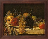 Grapes and Apples Kunstdrucke von François Miel