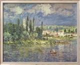 Thunderstorms Poster von Claude Monet