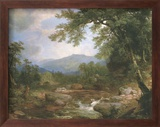 Monument Mountrains Kunst af Asher Brown Durand