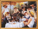Almuerzo de remeros, c.1881 Póster por Pierre-Auguste Renoir