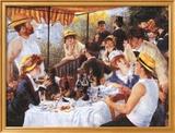 La colazione dei canottieri, c. 1881 Poster di Pierre-Auguste Renoir
